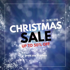 Christmas Winter Sale Retail Shopping Online
