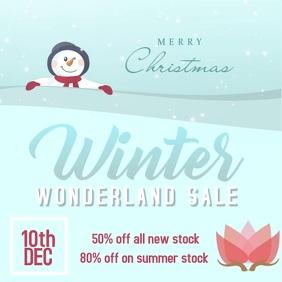 Christmas Winter Wonderland Sale
