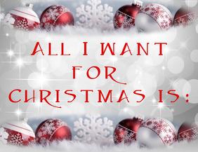 Christmas wish Flyer