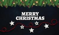 Christmas Wish Poster Mærke template