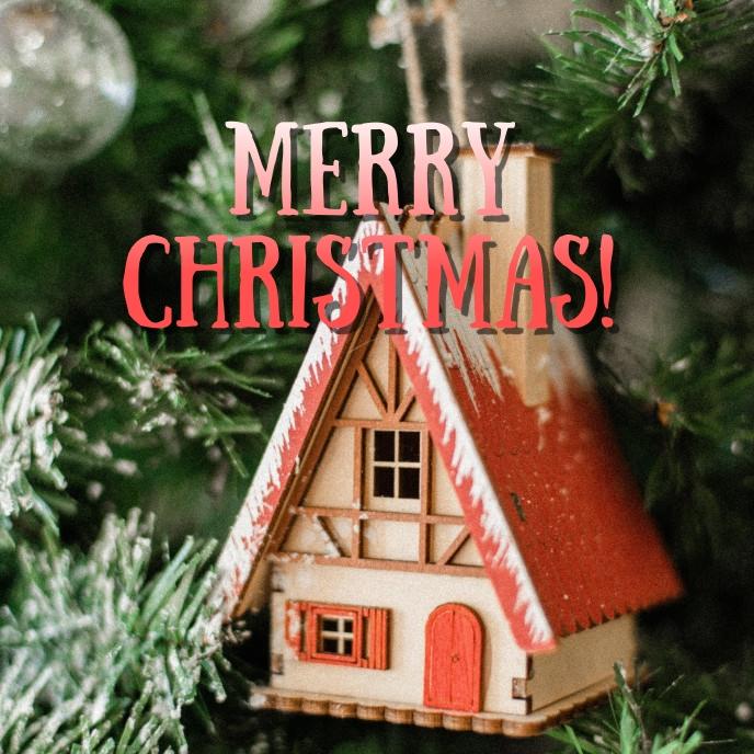Christmas wishes Sampul Album template