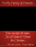 Christmas Wishes Flyer