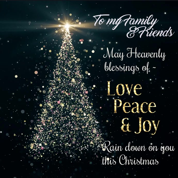Christmas cards design templates postermywall christmas wishes instagram video m4hsunfo