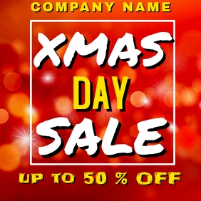 Christmas / xmas day Sales up to 50 % off Ins