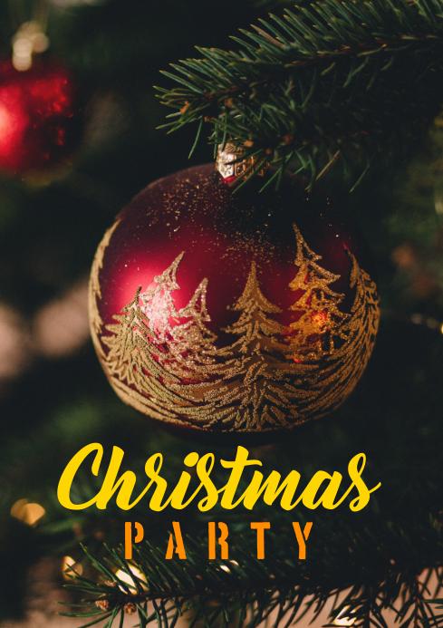 Christmas77 A4 template