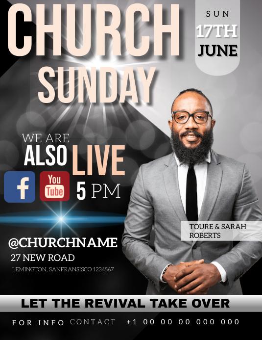 CHURCH AD ADVERTISEMENT ADVERT TEMPLATE