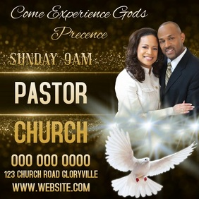 CHURCH AD Flyer Template
