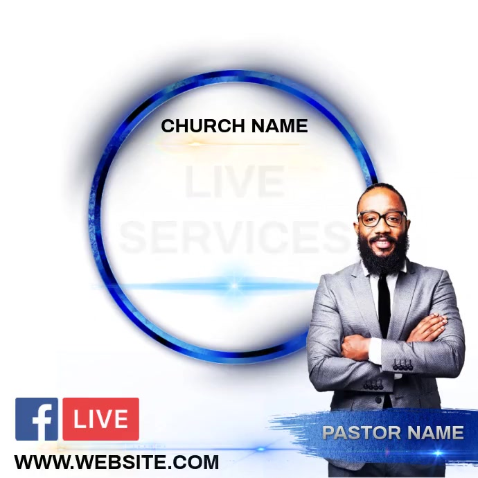 CHURCH AD INSTAGRAM POST TEMPLATE Logotipo