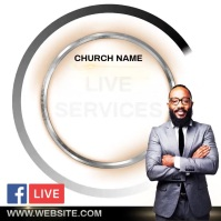 CHURCH AD INSTAGRAM POST TEMPLATE