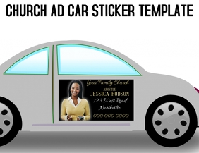 church ad template