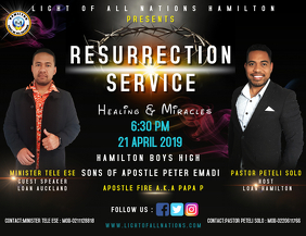 CHURCH AND EASTER FLYER