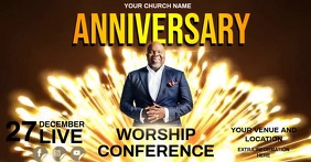 CHURCH ANNIVERSARY CONFERENCE VIDEO template