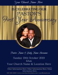 Church Anniversary Event Template