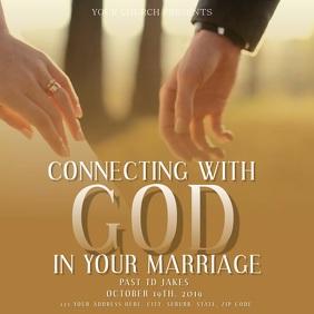 Church Announcement Flyer Template