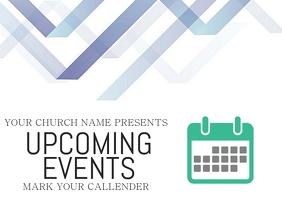 Church Announcement Slide Template