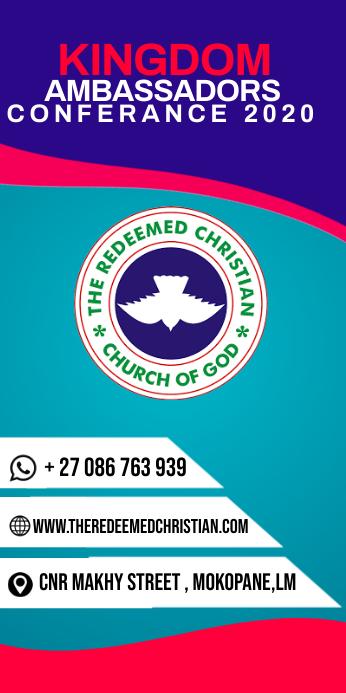 Church banner template