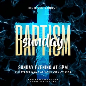 Church Baptism Sunday