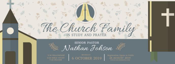 Church Bible Study Facebook Header