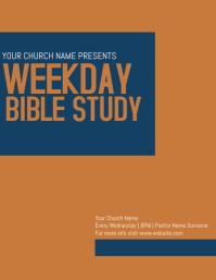 Church Bible study Group Flyer Template