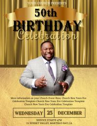 Church Birthday Celebration Event Template