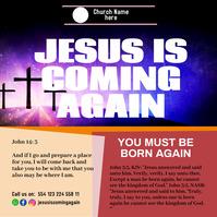 church birthday worship online 33 Publicación de Instagram template