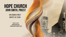 Customizable design templates for pastors business card postermywall church business card colourmoves