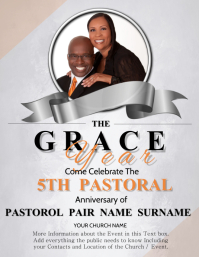 Church Celebration Event Flyer Template