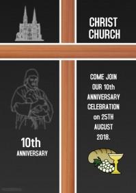 Church Celebration Flyer