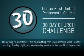 Church Challenge
