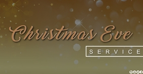 church christmas eve EVE SERVICE TEMPLATE Facebook Shared Image
