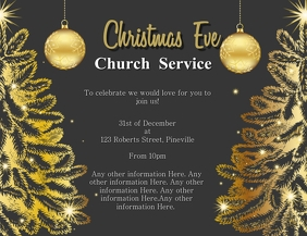 Church Christmas Eve Event Template