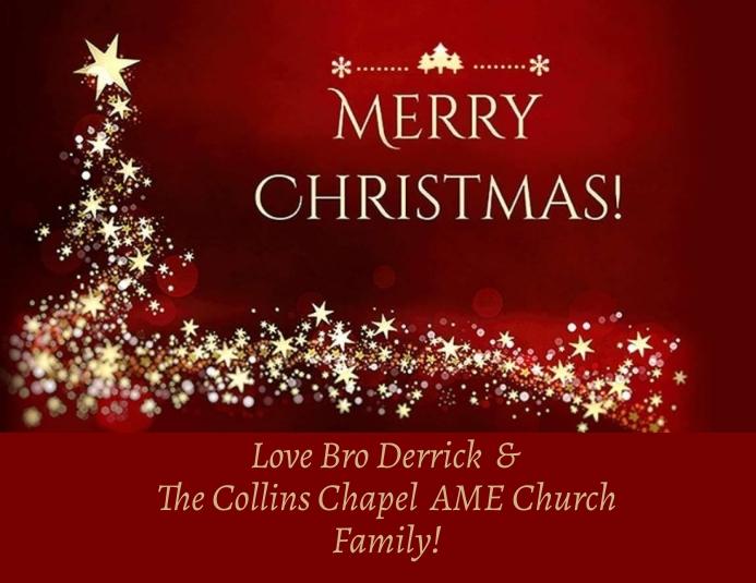 Church Christmas Greeting Folder (US Letter) template