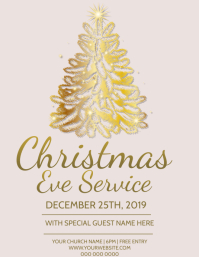 Church Christmas Service Event Template