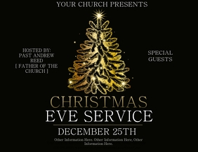Church Christmas Service Template