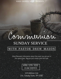 Church Communion Service Event Template