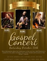 Church Concert Service Flyer Template