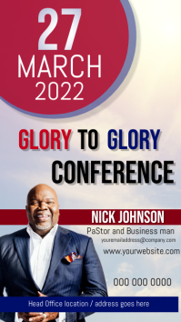 CHURCH CONFERENCE ad free template Instagram Story