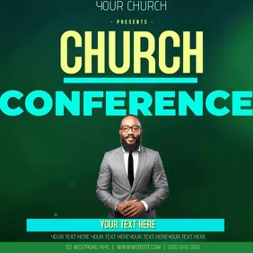 CHURCH CONFERENCE AD TEMPLATE Logo