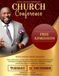 Church Conference Celebration Template