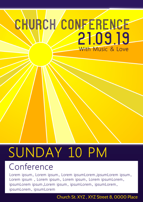 Church Conference Concert Gospel Pastors