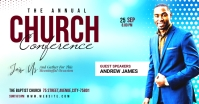 Church Conference Facebook Shared Image template