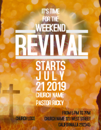 Church Conference EVENT FLYER/POSTER/AD