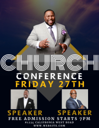 CHURCH CONFERENCE EVENT flyer template