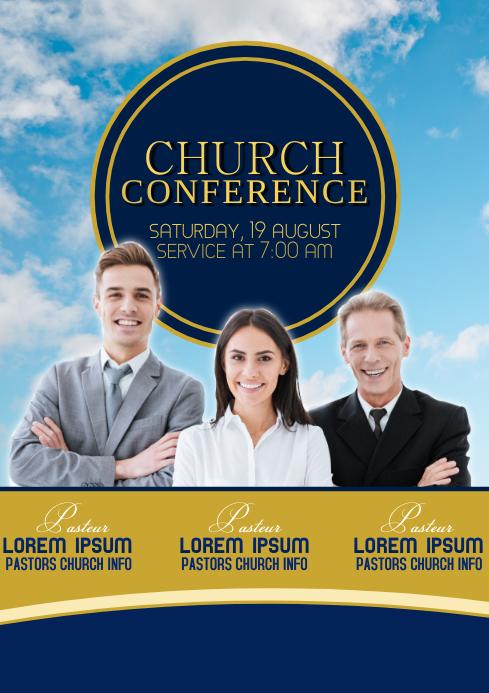 Church Conference Event Invitation Poster