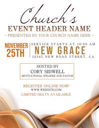 Church Conference Event Template