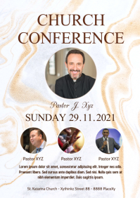 Church Conference Event Worship Leaders Flyer