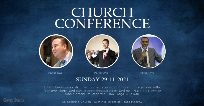 Church Conference Faith Worship Event Cover