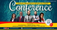 CHURCH CONFERENCE FAMILY AND FRIENDS TEMPLATE Facebook Shared Image