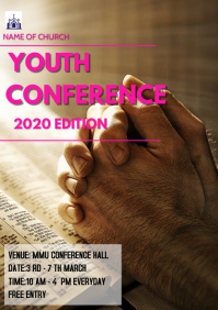 Church conference Flyer A3 template