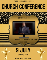 Church Conference FLYER POSTER BANNER TEMPLAT